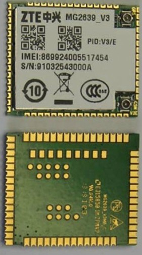 MG2639 -V3/E  ZTE  100% NEW&Original Genuine Distributor  GPS GSM GPRS  Cellular Module  stock 1PCS Free Shipping