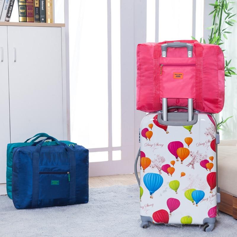 QIUYIN Waterproof Fashion Portable Large Lady Jacquard Luggage Capacity Storage Bag Travel Outdoor