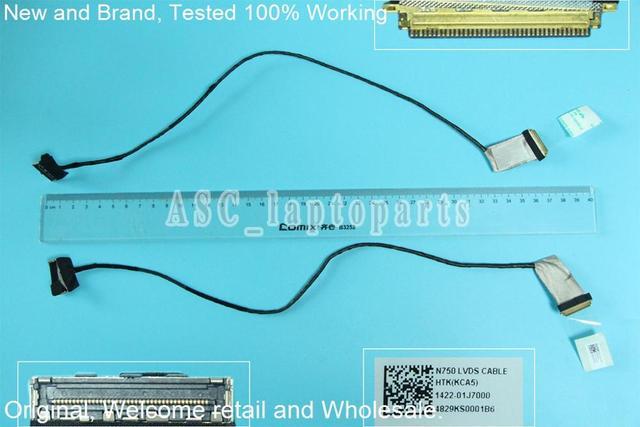 new original free shipping lcd led screen video flex cable for asusnew original free shipping lcd led screen video flex cable for asus n750j n750jk n750jv n750 series display cable 1422 01j700