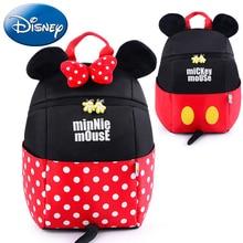 Disney 2019 New 3D Mickey Minnie Cartoon Kids Backpack Children School Bags Cute Kindergarten Girls Boy Nursery Student Book Bag