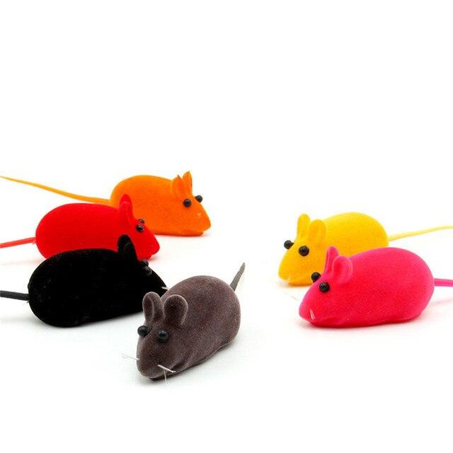 3 pz Vendita Calda Divertente Gatto Giocattolo Little Mouse Suono Realistico Gio