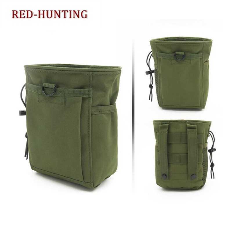 التمويه الصيد بندقية الحقيبة الذخيرة الحقيبة التكتيكية بندقية مجلة Dump قطرة Reloader حار بيع الحقيبة حقيبة أسود ACU