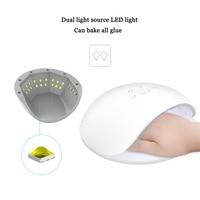 Nail Lamp Led Nail Lamp Gel Lamp Nail Light Nail Dryer Lampa Uv Led Manicure Unhas Gel Ferramentas