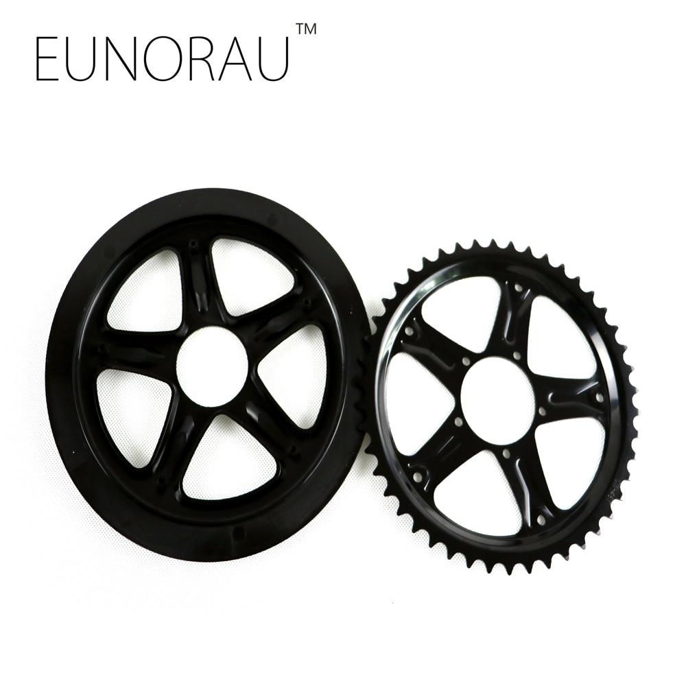 Free shipping 44T chainwheel for bafang electric bike mid drive motor kit