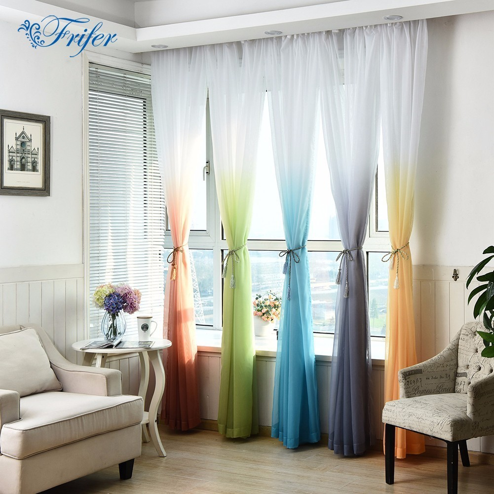 buy tulled color gradient wedding curtain. Black Bedroom Furniture Sets. Home Design Ideas