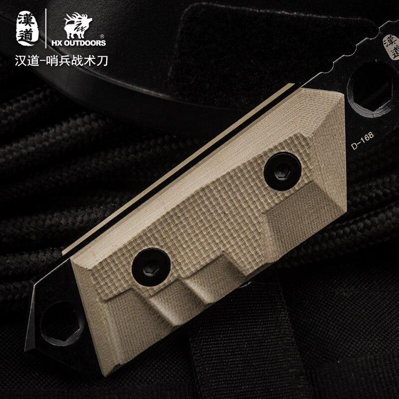 """""""HX OUTDOORS"""" dovanų peilis nešiojamas EDC gynybos išlikimas - Rankiniai įrankiai - Nuotrauka 5"""