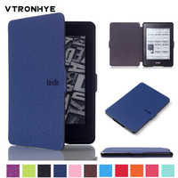 Funda para funda Kindle Paperwhite 1 2 3 6 ''cubierta Super delgada Auto despertador/sueño inteligente PU funda para Kindle Paperwhite 3 capa