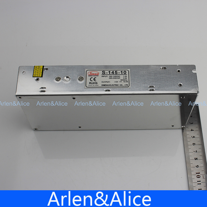 145W 10V 14.5A Single Output Switching power supply for LED Strip light AC to DC 145w 15v single output switching power supply for fsdy ac to dc
