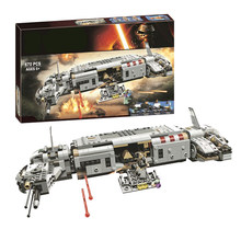 New Star plan Wars Advent Calendar Year 2018 Compatible The Sandcrawler building Block kid Toys(China)