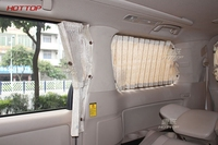 Special Curtain Shrinkable Windowshade car Curtain For Auto Car Side Windows only FOR Toyota Alphard MPV vellfire