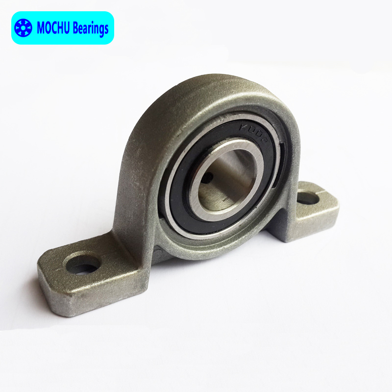 купить 1pcs 30mm KP006 kirksite bearing insert bearing shaft support Spherical roller zinc alloy mounted bearings pillow block housing по цене 322.99 рублей