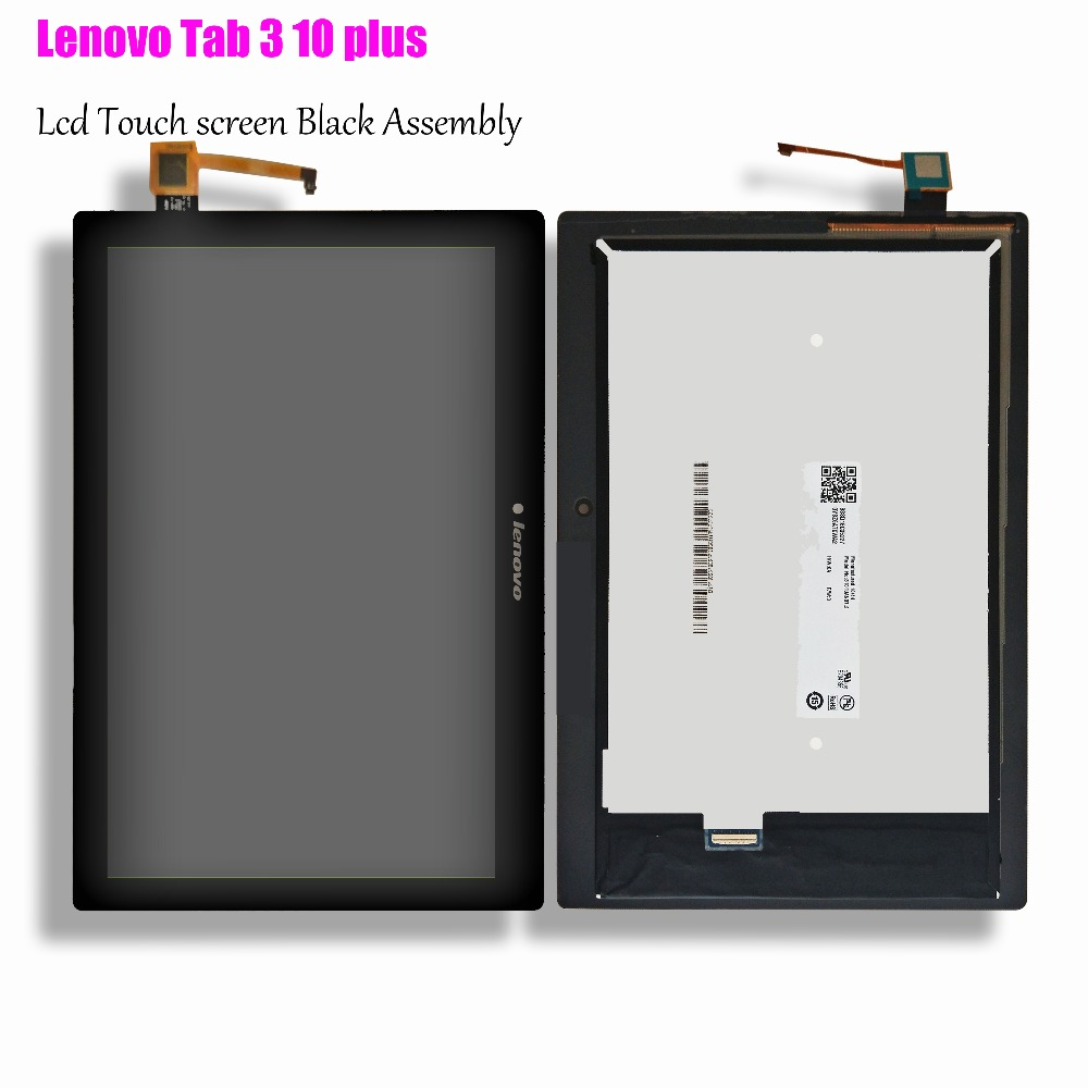 10inch LCD Display with Touch screen Assembly For Lenovo Tab 3 10 plus Business TB3-X70L ZA0Y TB3-X70F TB3-X70N Touch Digitizer ultra thin folio flip case for lenovo tab 3 10 business tb3 x70f tb3 x70l tablet with stand hand wristband 10 1 inch