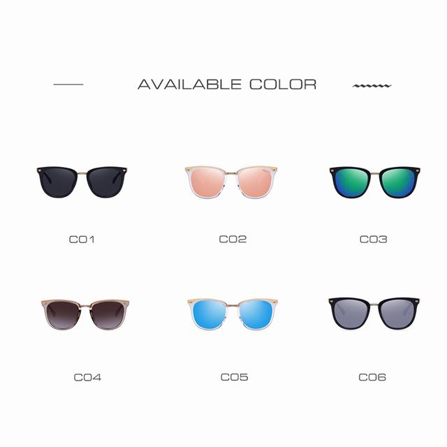 AOFLY Fashion Polarized Sunglasses Vintage Shades