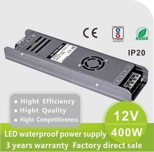 Image 2 - 400 واط 24 فولت امدادات الطاقة AC220v إلى DC12V / DC24V led امدادات الطاقة 12 فولت smps 33A /16.7A 400 واط 33a 12 فولت تحويل التيار الكهربائي