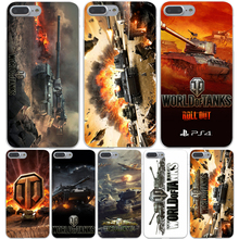 world of tanks Hard Transparent Cover Case for iPhone 7 7 Plus 6 6S Plus 5 5S SE 5C 4 4S