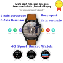3GB+32GB 4G all netcom Smart Watch Android 7.1. 2MP Camera Fitness Tracker Heart Rate Wifi GPS Bluetooth 4 Smartwatch women men 4g smartwatch phone 1g ram 8g rom gps wifi heart rate sleep monitor smart watch fitness men women with camera for ios android
