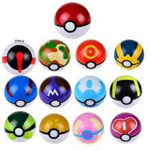 Pokeball Masterball Complete Collections Ball Toy 7CM 13pcs