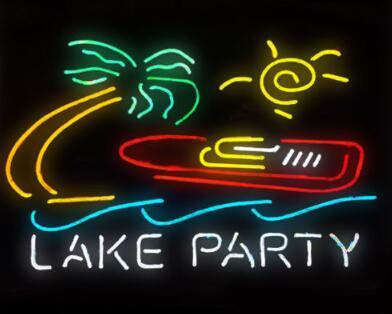 Lake Party Neon Light Sign Beer Bar