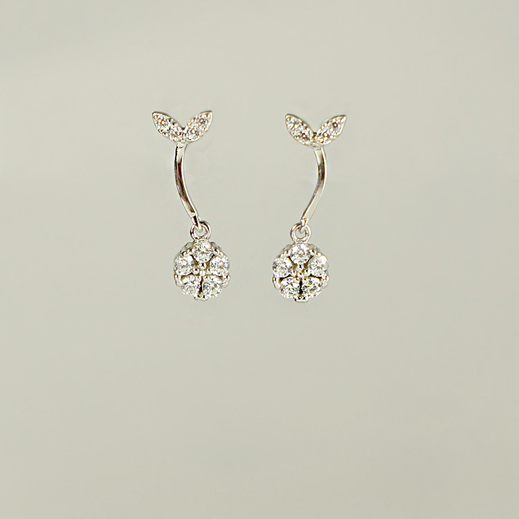 ZTUNG LVP55 women fine jewelry,925 silver delicate lady earring,a cute gift for your lover