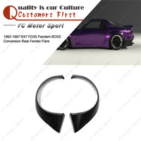 Car Accessories FRP Fiber Glass PD BOSS Style Rear Fender Fit For 1992-1997 RX7 FD3S Rear Fender Flares