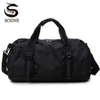 Scione Waterproof Travel Bag Multifunction Travel Duffle Bags For Men Women Collapsible Bag Large Capacity Duffel