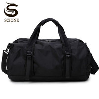 Scione Waterproof Travel Bag Multifunction Travel Duffle Bags For Men Women Collapsible Bag Large Capacity Duffel