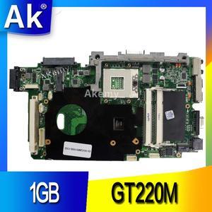 AK laotop материнская плата + 1 Гб GT120M Видеокарта VGA для ASUS K51IO K61IC K70IO X66IC K61IC K70IC X70IC материнская плата для ноутбука