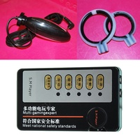Electro Shock Penis Expander Ring, Shock Anale Vaginale Plug Penisvergroter Enhancement Pomp Electro Sex Toy Kit