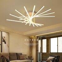 Поверхностный монтаж современные светодиодные потолочные светильники для кабинета спальня гостиная стильный дом деко AC85 265V потолочный св