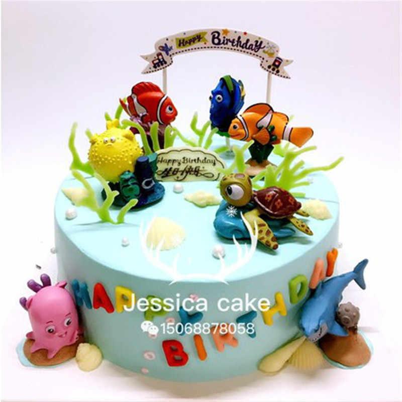 Fantastic 8Pcs Ocean Animal Whale Starfish Seahorse Cookie Cutter Ocean Funny Birthday Cards Online Eattedamsfinfo