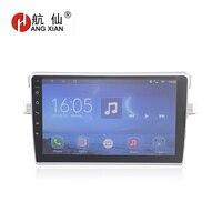 Bway 9 2 Дин радио для Toyota Verso E'Z Quadcore Android 7.0.1 автомобиль dvd gps плеер с 1 г оперативная память, 16 iNand, Bluetooth, SWC