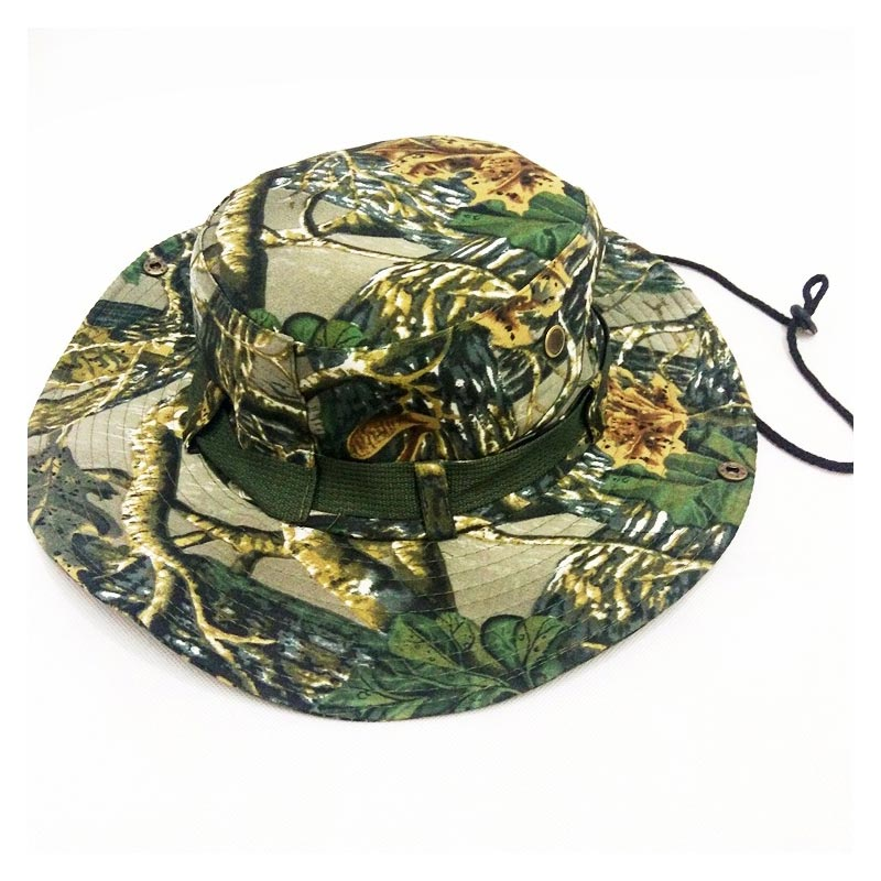 7f2fc303065 Tactical Airsoft Sniper Camouflage Sun Hats Men s Outdoor Hiking Cap  Fisherman s Hat Summer Bucket Hat Fishing Hats For Men-in Fishing Caps from  Sports ...
