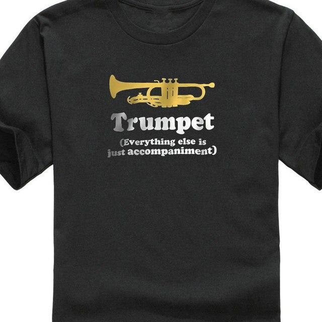 30e3a051 Printed T Shirts Online Fashion Trumpet Gift (Funny) Men Short O-Neck T  Shirts Men And Woman T Shirt Free Shipping