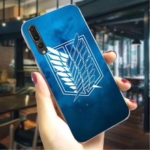 Attack on Titan Hard Cover for Huawei P20 Lite Fashion Phone Case for Huawei Mate 10 Lite Mate 20 Pro P8 Lite 2017 Back shell стоимость