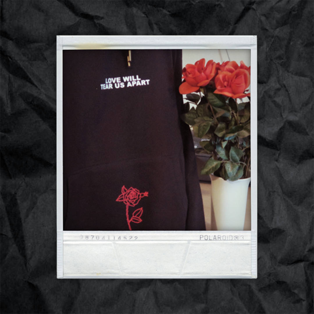 Aliexpress Com Buy Love Will Tear Us Apart Rose Letter Print