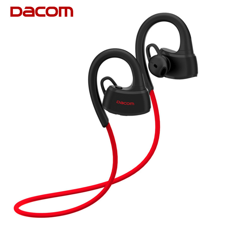 DACOM P10 Wireless Sport Headset IPX7 Waterproof Bluetooth Stereo Earphones with Microphone Mic for Swimming/Music/Handfree Call dacom wireless technology bluetooth headset sport stereo earphone with charging box for iphone 7 7plus and intelligent phone