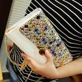 Luxurious and noble austrian rhinestone day clutch 2015 new clutch purse Wedding Crystal Purses Evening bag women bag handbags