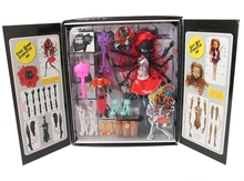 """Anime Action Figure Figures Of MH 11"""" /26cm Black Spider Girl Lady With Movable Hands  For Fans Collection"""