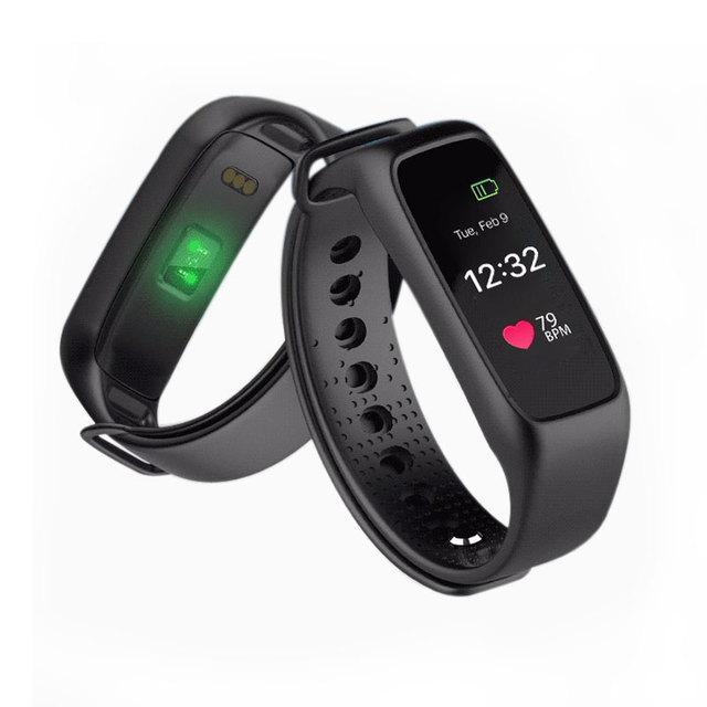 Dinámico banda de fitness monitor de ritmo cardíaco reloj bluetooth inteligente pulsera smartband para ios android iphone 6 s 7 samsung smartphone