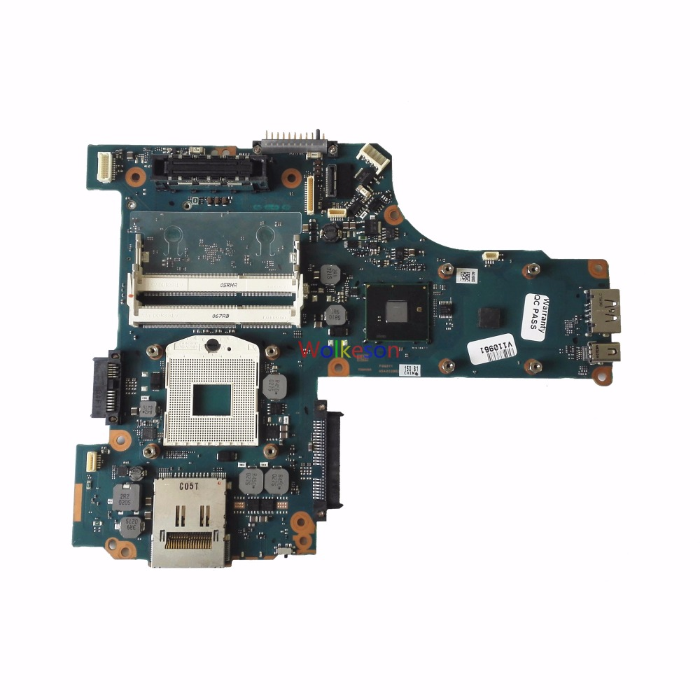 SHELI FOR Toshiba Tecra M11 Laptop Motherboard A5A002862 P/N: P000534980 FGQSY1 DDR3 Test Oke