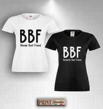 b8525b788 T-shirt BEST BLONDE BRUNETTE FRIENDS T-shirt Gift Idea Couple friends  friends Cool Casual pride t shirt men Unisex New