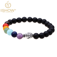 Hot selling matte agate friendship bracelets jewelry new style natural stone Buddha bracelet cuir bijoux homme charm bracelet