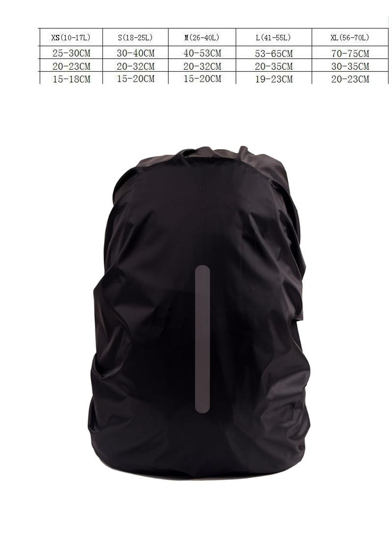 Waterproof Travel Camping Backpack Rucksack Dust Rain Cover 30-40L Bag Fine