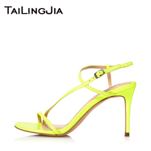 Woman Sandals 9 CM Low Heel Women Sandals Woman Summer Shoes Open Tow Buckle Brand Wedding Party Ladies Heel Shoes Free Shipping free shipping 2016 sandals shoes women shoes for women sandals ladies sandals heel women genuine style dress casual shoes 818 2