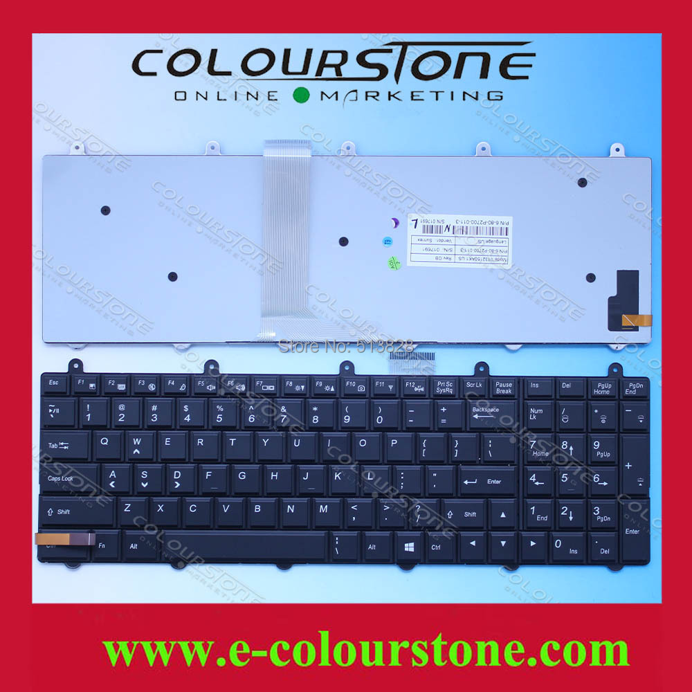 US Laptop keyboard for MSI GT60 GT70 MS-16GA MS-1762 GE70 GX60 GX70 english notebook keyboard with backlit