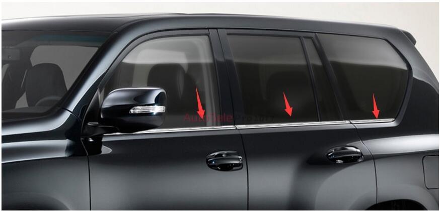 Fits BMW 5-Series 1998-2003 Real Carbon Fiber Black Window Pillar Posts 6PCS