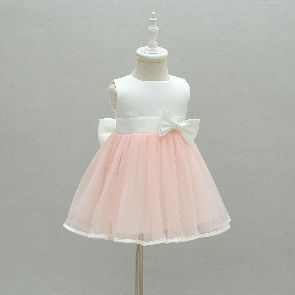 Birthday Baby Girl Dresses 8 Years Old Pink Bow Party Wear Vestido 2828  Toddler Baby Girls Clothes for 8-8 Month RBF874822
