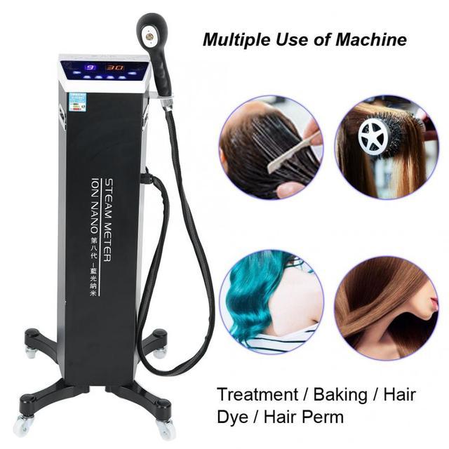3 أنواع نانو ترطيب الشعر البخاخ الصباغة Perming الرعاية الضوء الأزرق آلة العناية بالشعر آلة بخاخ الشعر
