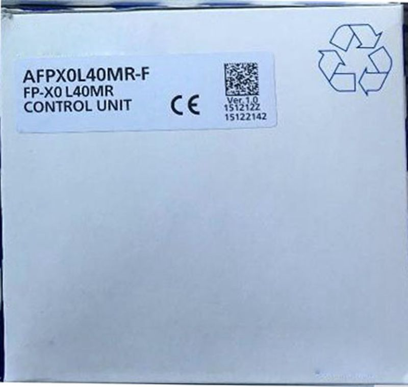 New Original AFPX0L40MR PLC 100-240VDC DC input 24 points Relay output 12 points FP-X0 Control Unit plc afp0rc14rs 24 v dc 8 input points 6 relay output points new original well tested working three months warranty