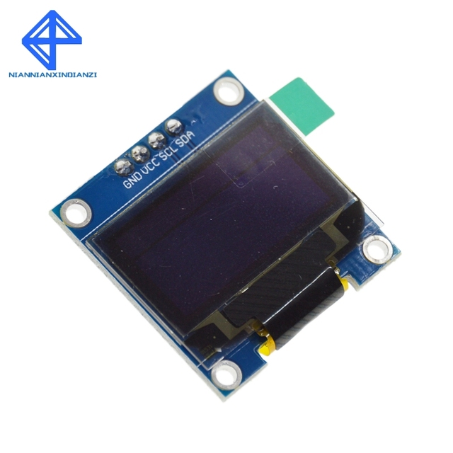 """White color 128X64 OLED LCD LED Display Module For Arduino 0.96"""" I2C IIC SPI Serial new original 1"""